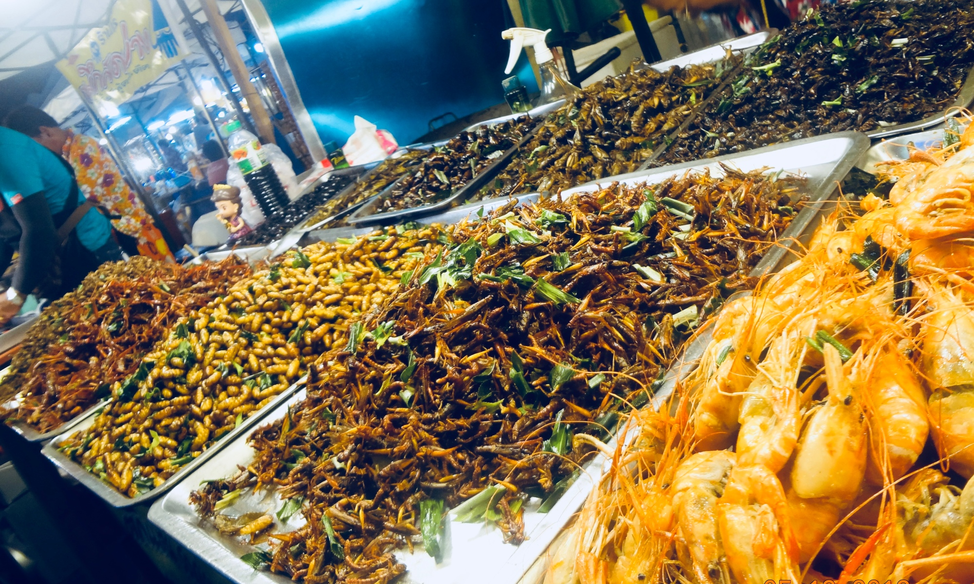 Night Market, Bkk Thailand