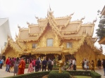 Chiang Rai: The golden building